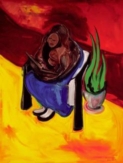 """Girl in Chair"" by Spence Munsinger"