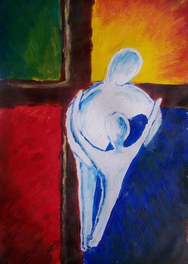 """God's Healing Embrace"" by Kerstin Berthold"