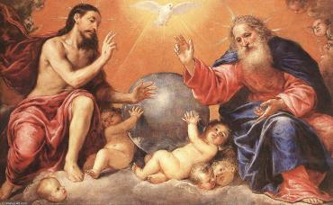 """The Holy Trinity"" by Antonio de Pereda (17th century)"